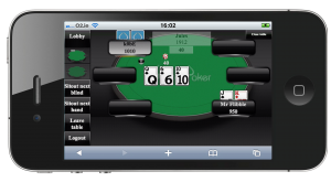 Switch Mobile Poker app