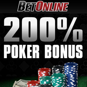 First Deposit Poker Bonuses Launched by BetOnline
